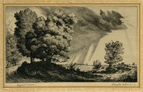 Image of etching - August Showers