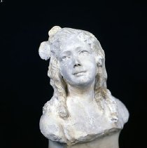 Image of sculpture - Bust Of Young Girl