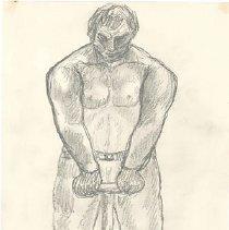 Image of Abraham Walkowitz, Untitled (male figure)