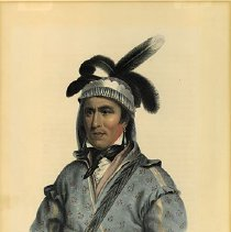Image of McKenney and Hall, Opothle Yoholo - A Creek Chief, ca. 1836-44
