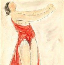 Image of Abraham Walkowitz, Dancer, ca. 1915