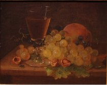 Image of Painting - Still Life With Grapes