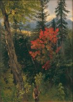 Image of Painting - Hunting In The White Mountains, New Hampshire