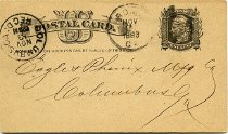 Image of Postcard - Postal card to Eagle & Phenix Manufacturing Company
