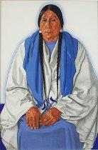 Image of Drawing - White Buffalo Woman (Mrs. Smith)