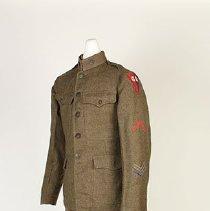 Image of World War I uniform, ca. 1914