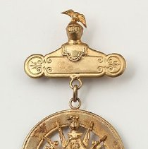 Image of Knights of Pythias medal, 1884-1939