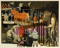 Image of Print, Intaglio - History of Printmaking: Picasso At The Zoo