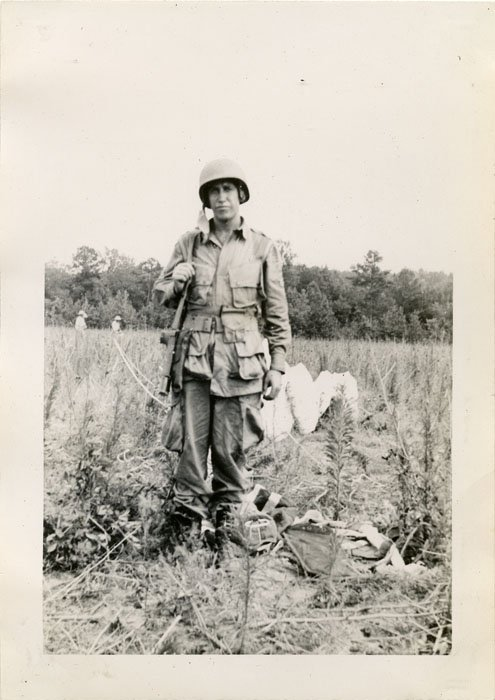 Photograph Paratrooper Training Fort Benning 1942