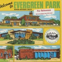 Image of Welcome to Evergreen Park - Pamphlet