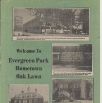 Image of Welcome to Evergreen Park, Hometown, Oak Lawn - Magazine