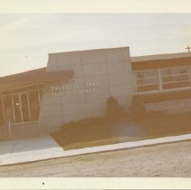 Image of Evergreen Park Public Library, 94th Troy, 1963