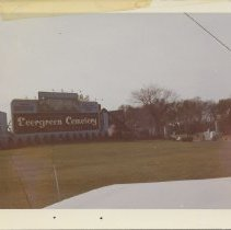 Image of Evergreen Park Cemetery, 1963