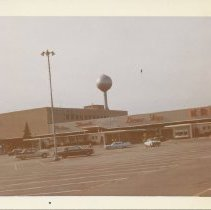 Image of Evergreen Plaza Parking Lot, 1963 - Print, Photographic