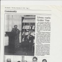 Image of Library's 50th anniversary