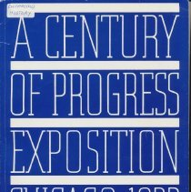 Image of A Century of Progress Exposition Chicago 1933 - Book