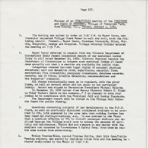 Image of Board of Trustees Minutes, Village of Evergreen Park, IL 1/3/1983 - 12/19/1983 - Minutes
