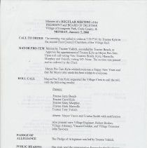 Image of First page of January 3, 2000