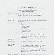 Image of First page of January 7, 2002