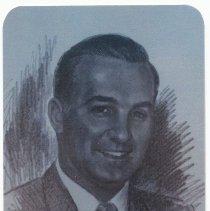 "Image of Walter W. ""Billy"" Pierce prayer card, 2015.     - Card, Prayer"
