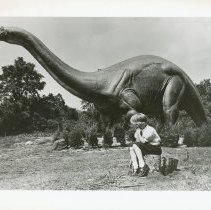 Image of Dinoland at Evergreen Plaza - Print, Photographic