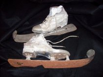 "Image of Paul ""Chesty"" Mortier Ski Skates"