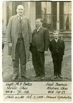 Image of CWI 3231 - Capt. M.V. Bates and Frank Bowman