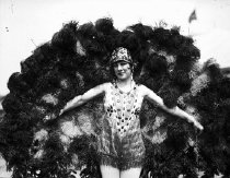 Image of CWi 278 - Girl in fan costume.