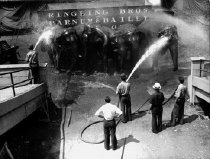 Image of CWi 620 - Hosing down the elephants