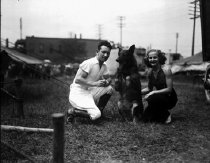 Image of CWi 15 - Clyde Beatty with wife Harriet.