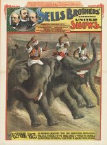 Image of CWi 17002 - Sells  Bros. Circus
