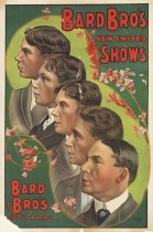 Image of CWi 14736 - Bard Bros. New United Shows