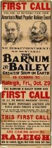 Image of CWi 6106 A-B - Barnum & Bailey Circus
