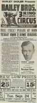 Image of CWi 6354 A-B - Harley Sadler's Circus