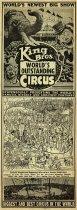 Image of CWi 6435 A-B - King Bros. Circus
