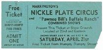 Image of CWi 4109 - Harrington's Nickel Plate Show