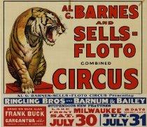 Image of CWi 20977 - Al G. Barnes & Sells Circus