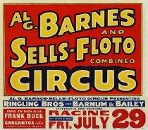 Image of CWi 14388 - Al G. Barnes & Sells Circus