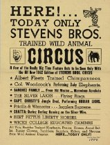 Image of CWi 6725 A - Stevens Bros. Circus