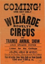 Image of CWi 6804 A-B - Wiziarde Novelty Circus