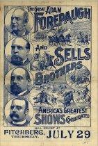 Image of CWi 21054 - Adam Forepaugh & Sells Bros. Circus