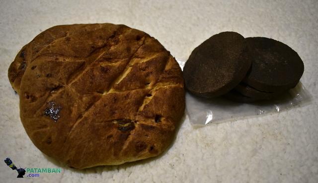 pan de fina con chocolate de patamban