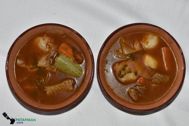 Dos platos de churipo