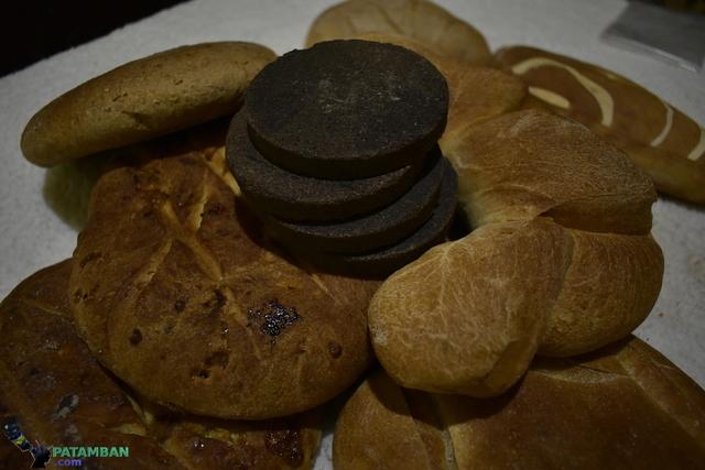 chocolate y panes de patamban