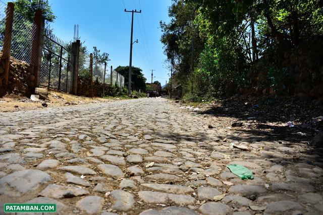 calles empedradas