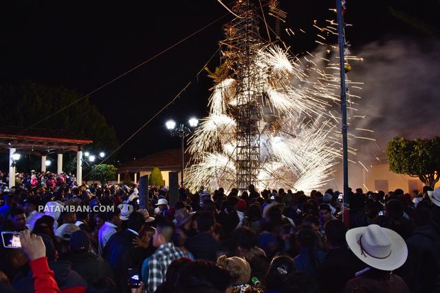 Baile y castillo - Fiesta Cristo Rey 2019