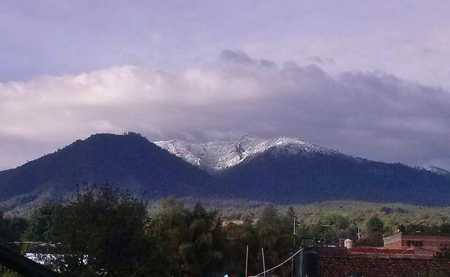 Nieve en Patamban