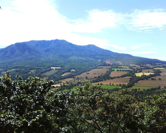 Cerro grande vista patamban