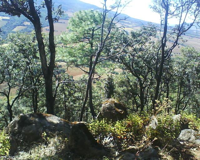 En la cima cerro tres marias