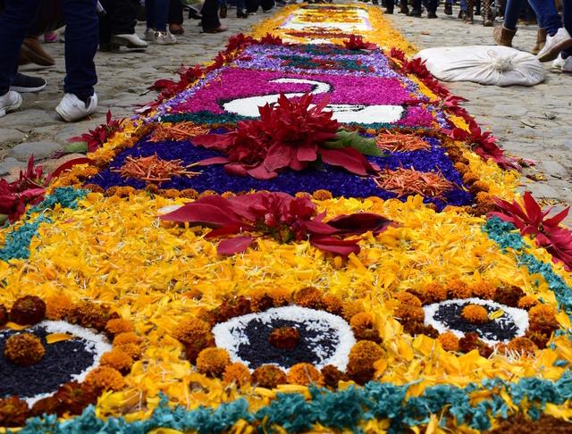 Patamban tapetes florales